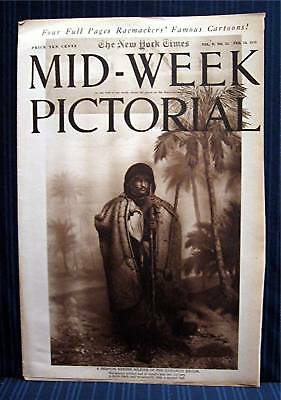 1916 NY Times 02-10 Mid Week War Pictorial WWI Magazine