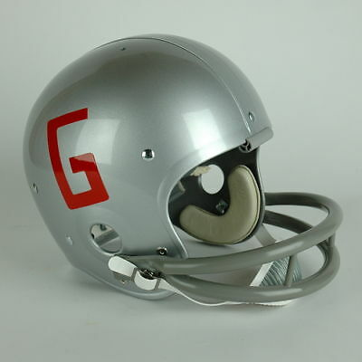 Georgia Bulldogs RK Football Helmet History 6 Models