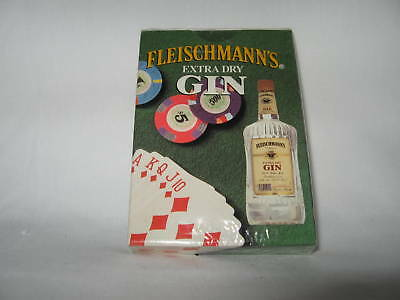 "Playing Cards ""fleischmann's Extra Dry Gin"" Sealed"