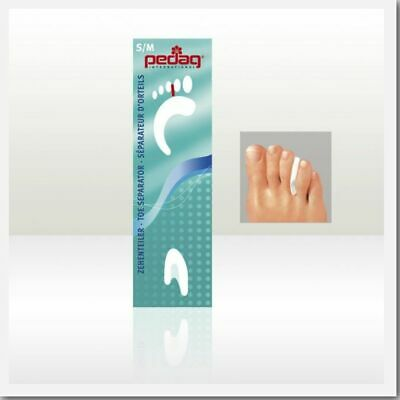 Pedag Gel Toe Separator Corns Blisters Bunions New L/XL