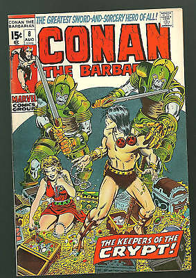 Conan the Barbarian #8 VF/NM Barry Windsor Smith 70's