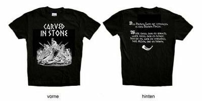 """Carved in Stone """"Des hohen Lied"""" Girlie - S (NEU / NEW)"""