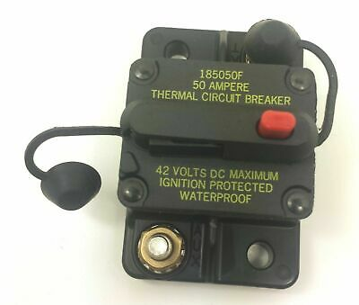 Bussman DC Circuit Breaker 50 Amp Surface Mt. 185050F