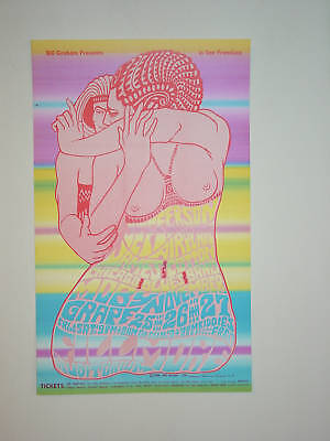 Jefferson Airplane/Moby Grape/Cotton- BG039 1966 POSTER