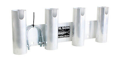 Wilson Bull Bar Fishing Rod Holder/Carrier Aluminium 4 Hole