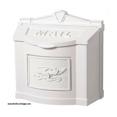 GAINES LOCKING WALL MOUNT MAIL BOX GAINES EAGLE MAIL BOX 6 VARIATIONS