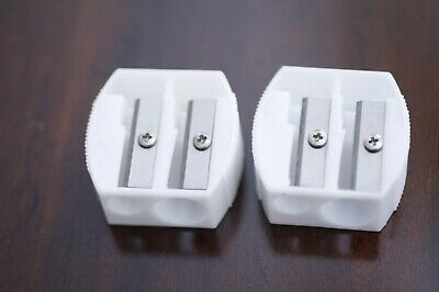 1 Piece Makeup Pencil Sharpener 2-in-1 Regular/Jumbo