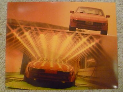 1987 Porsche 944 Coupe Showroom Advertising Sales Poster RARE!! Awesome L@@K
