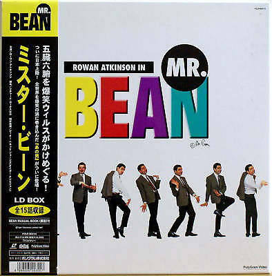 MR BEAN Box Set OBI Strip Ultra Rare Laserdisc LD NTSC
