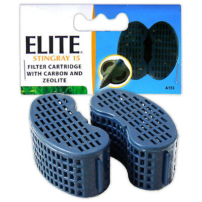 Elite Stingray 15 - Foam Pad Replacement Carbon Media Cartridge