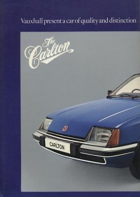1979 Vauxhall GM Carlton Dealer Sales Brochure Book