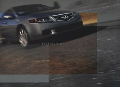 2004 Acura TSX Intro Original Sales Brochure Book