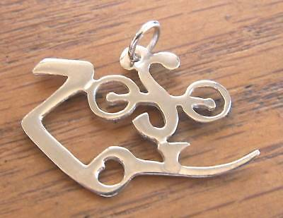 SOLID SILVER 925 ZOSO JIMMY PAGE PENDANT HAND MADE