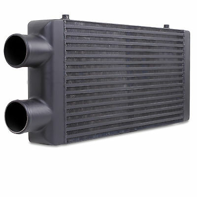 Black Edition Twin Pass Intercooler Fmic For Toyota Supra Starlet Celica Gt Gt4