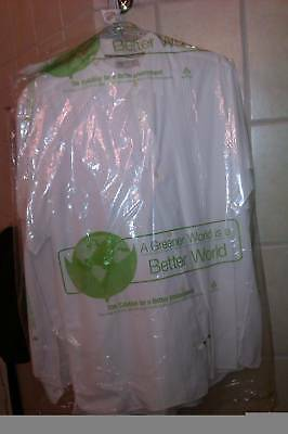 "Biodegradable Dry Clean Poly Garment Bags 40"",60""or 72"""