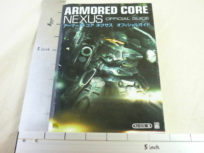 ARMORED CORE NEXUS Game Guide Book Japanese PS SBc