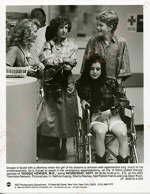 Doogie Howser MD Press Photo 7X9 NEIL PATRICK HARRIS Sherry Rooney KATHRYN LAYNG