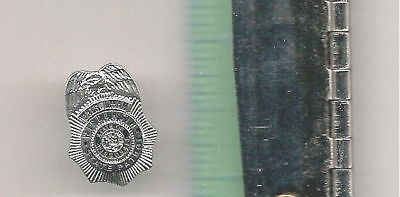 WISCONSIN STATE PATROL POLICE OFFICER LAPEL BADGE PIN
