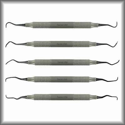 Implant Scaler & Curettes Set (#Sisc) -Set Of 5