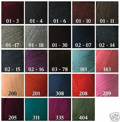 Yarn Place New Paragon Worsted WT Weight Yarn 100% Pure Wool 500 g