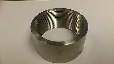 "2 1/4"" Bsp 316 Stainless Steel Socket 150Lb Suitable For Immersion Heater"