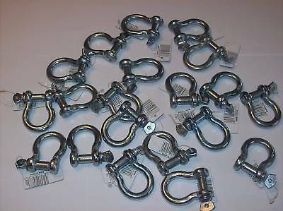 """20 Bow Shackle Clevis Screw Pins Anchor 3/8"""" Czcbs6"""