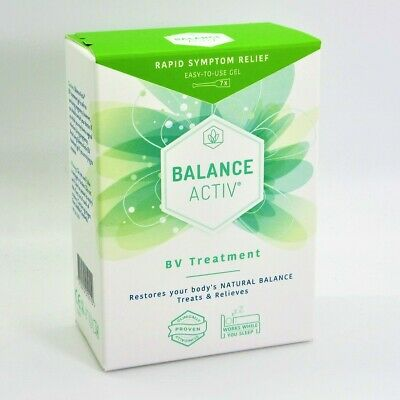 2 x Balance Activ Active Vaginal Bv Gel (7 PK) - RESTORES pH