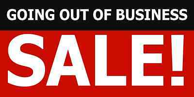 Going out of Business Sale Sale Banners 3x6