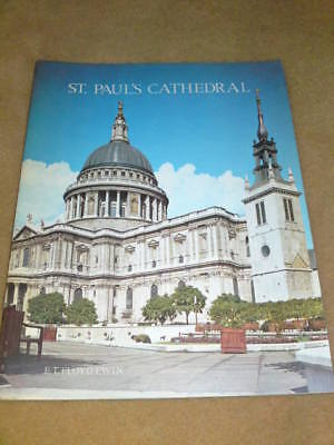 ST.PAUL'S CATHEDRAL GUIDE 1972 24 pgs