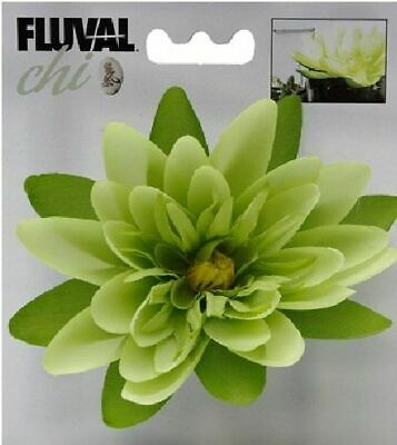 New Hagen Fluval Chi Fish Tank Lily Flower 12192 Decoration