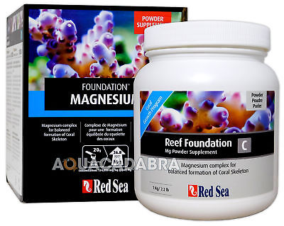 Red Sea Reef Foundation C 1Kg Magnesium Powder Complex Coral Marine Aquarium