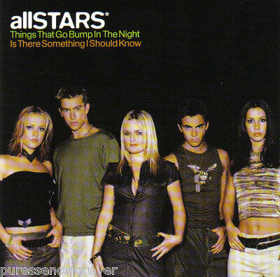 allSTARS* - Things That Go Bump In The Night (UK 4 Tk CD Single)
