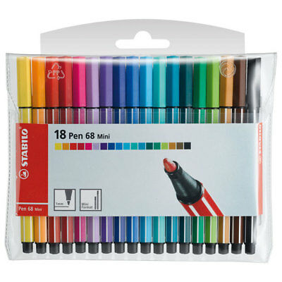 Stabilo Pen 68 Mini - Filzstifte - 18Er Set