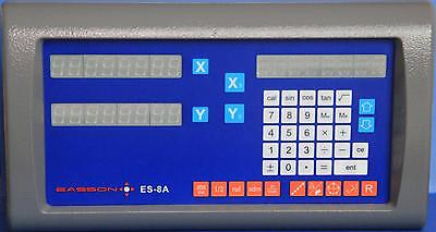 EASSON 2-axis digital readout + 2 JCX scales (complete unit)