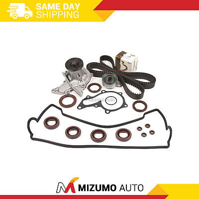 Timing Belt Kit Water Pump Valve Cover Fit 93-97 Toyota Corolla Celica Geo 7AFE