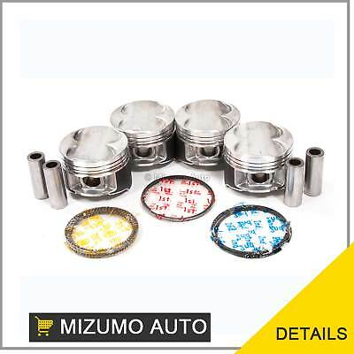 Pistons w/ Rings @STD fit Acura Integra Type R Vtec 1.8L B18C5