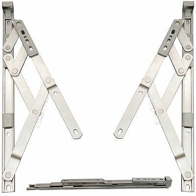 """17mm Friction Hinge for Top / Side Hung uPVC Window Stay 8"""" 10"""" 12"""" 16"""" 20"""" 24"""""""