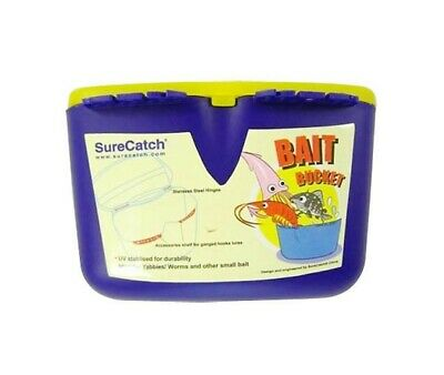 Brand New Surecatch Bait Bucket With Accessories Shelf
