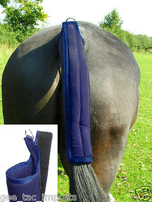 Gee Tac Rug  Horse Waterproof Elasticaed Tail Guard Bandage Washable Padded Full