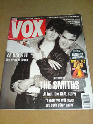 VOX MAGAZINE #21 - THE SMITHS - June 1992
