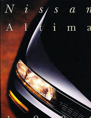 1994 Nissan Altima CDN Sales Brochure Book