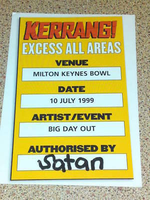 Kerrang Postcard #5 Unused