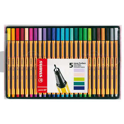 Stabilo Point 88 - Fineliner - 25Er Set (Standardfarben)