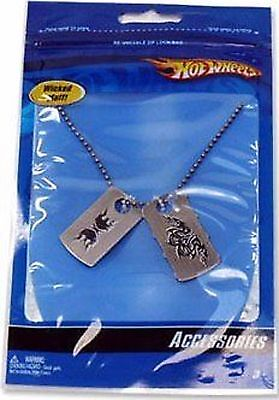 """Hot Wheels Party Gift Supplies Boys """"Dog Tag"""" Necklace"""