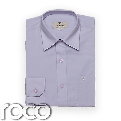 Boys Lilac Shirt, Childrens Shirts, Kids Shirts, Formal Shirts, Dress Shirts