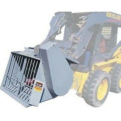 Concrete Mixer for Skid Steer Loaders - Commercial - Industrial & Heavy Duty