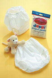 1960s Vintage Cat Baby Clothes Infant Diaper Plastic Pants