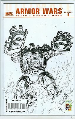 Ultimate Armor Wars #1 Diamond sketch variant 2009