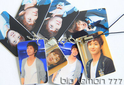 Lee Teuk In SUPER JUNIOR Mobile Phone Strap Keychain N3