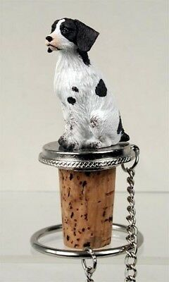 Brittany  Liver  And White    Dog Wine Stopper